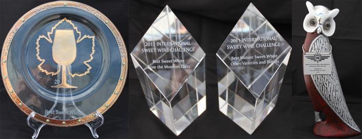 2011年第三国际甜酒年度奖大赛